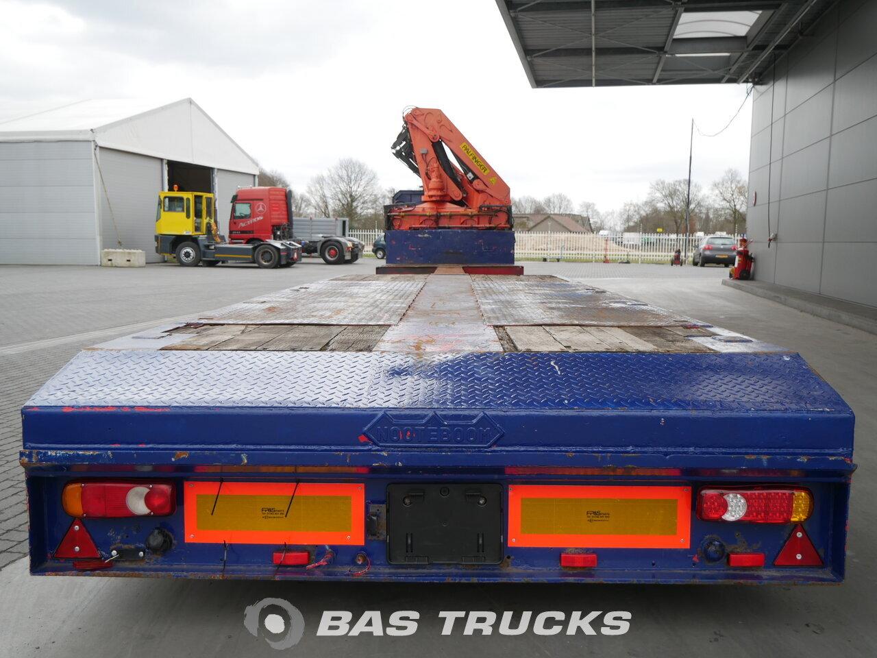 photo of Used Semi-trailer Nooteboom Ausziebar bis 17m70 OSD-44 VV Palfinger PK33000B Axels 1990