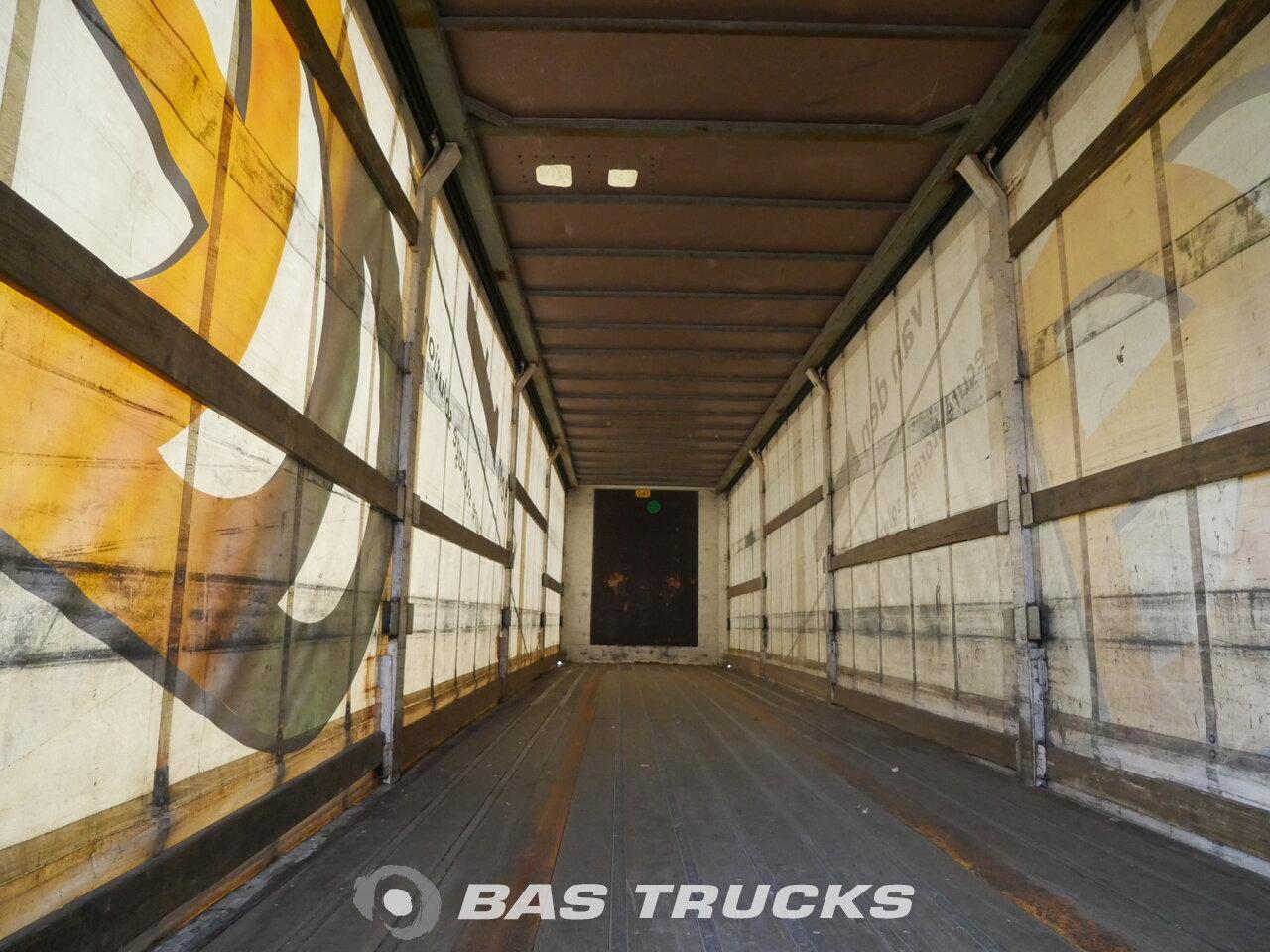 photo of Used Semi-trailer Pacton Hartholz-Bodem TXL 339 Axels 1996