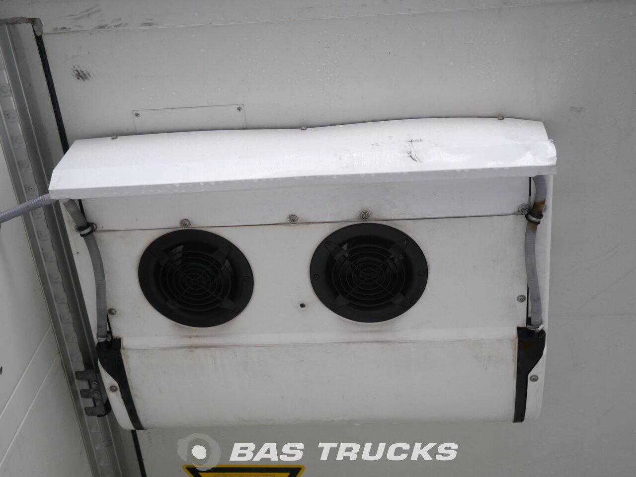 photo of Used Semi-trailer Schmitz Doppelverdampfer Trennwand Ladebordwand SKO24 Axels 2010