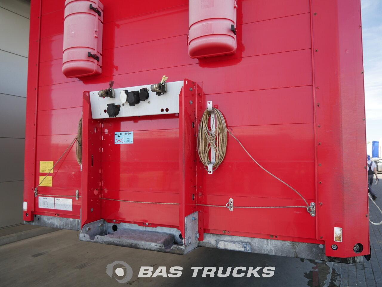 photo of Used Semi-trailer Schmitz Verbreitbar Hubdach Coil Liftachse Axels 2011