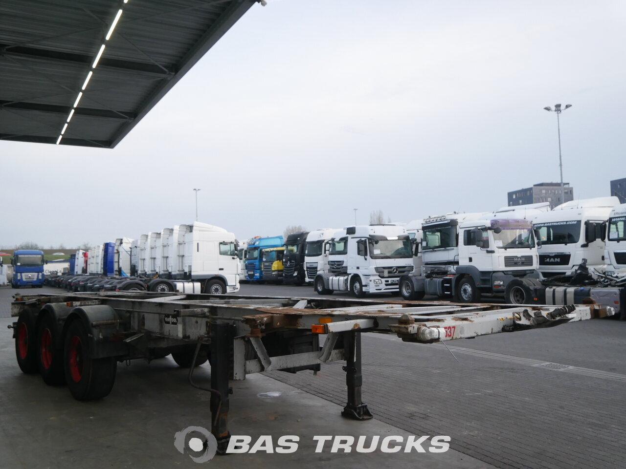 photo of Used Semi-trailer Van Hool 3B2005 3 Axels 1996