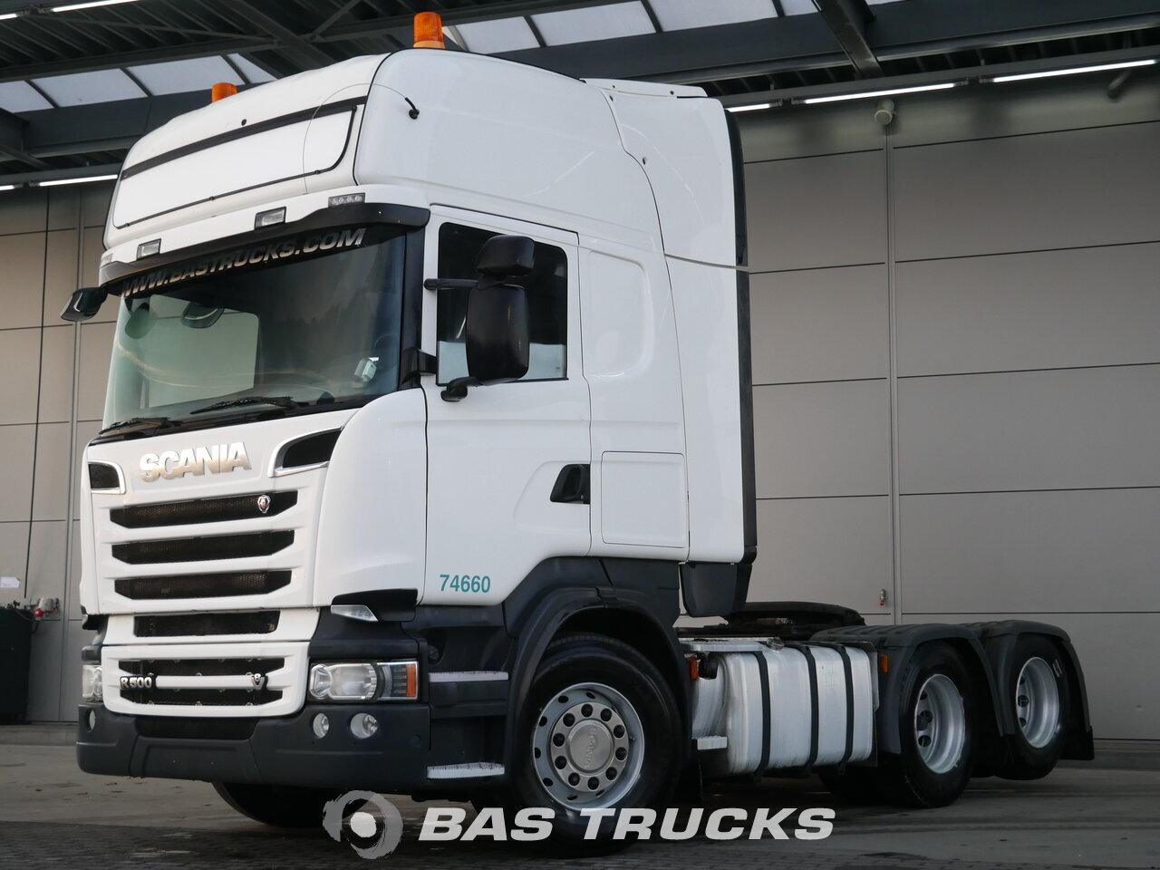 Fénykép: Used Tegljač Scania R500 6X2 2013
