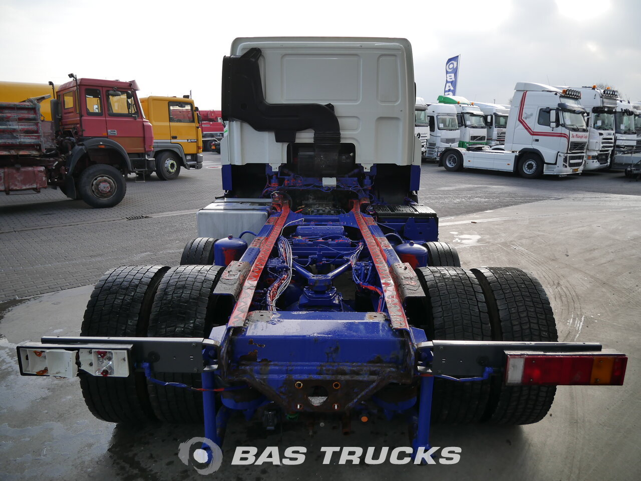 photo of Used Tractorhead DAF CF85.460 RHD 6X2 2008