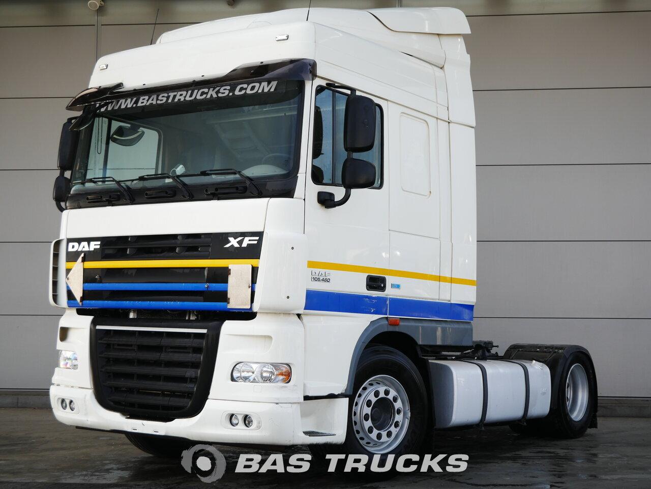 W Mega DAF XF105.460 Tractorhead Euro norm 5 €18900 - BAS Trucks CL66