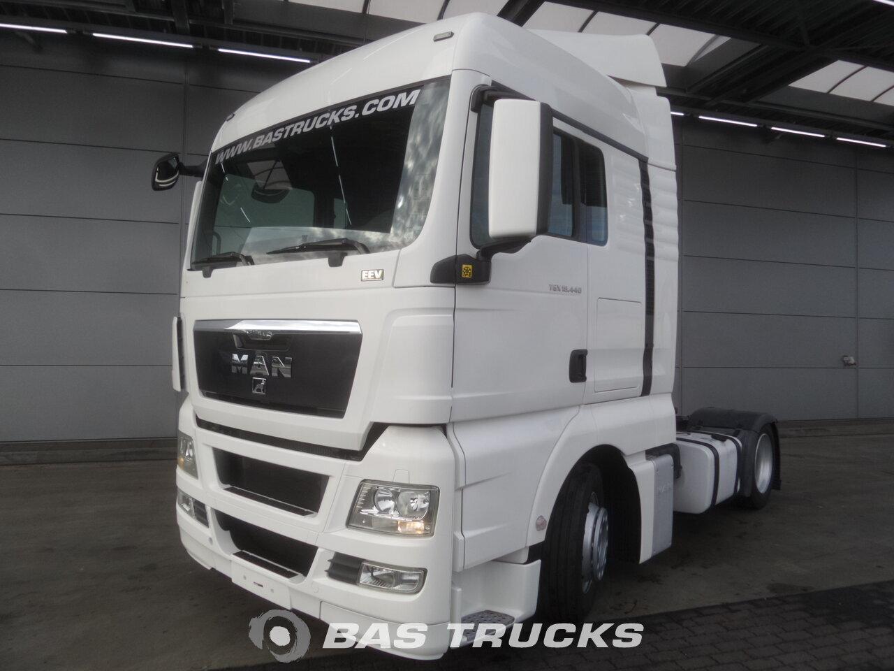 10d66b5faa MAN TGX 18.440 XLX Tractorhead Euro norm 5 €26900 - BAS Trucks