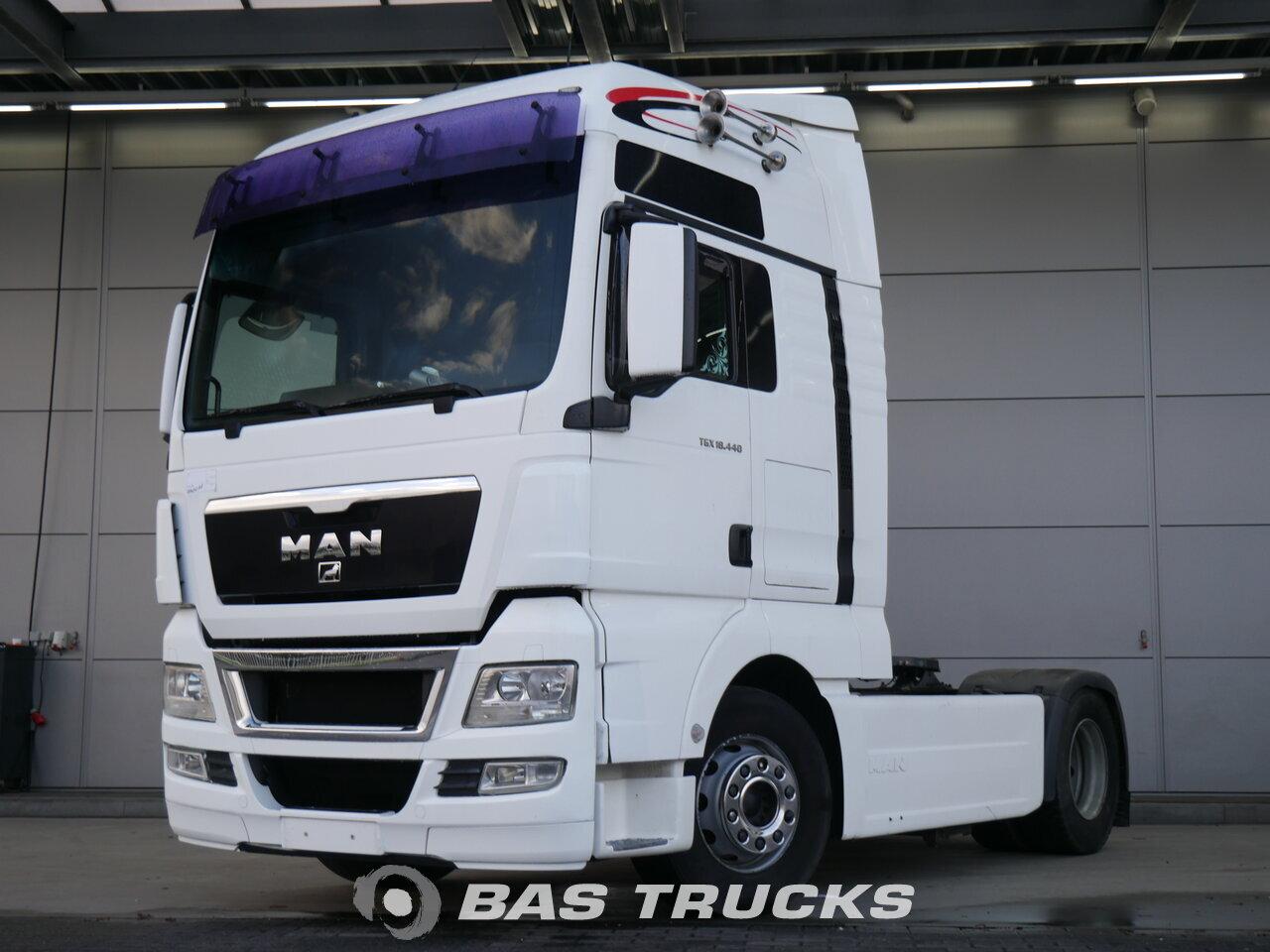 man tgx xxl tractorhead euro norm 5 13800 bas trucks. Black Bedroom Furniture Sets. Home Design Ideas