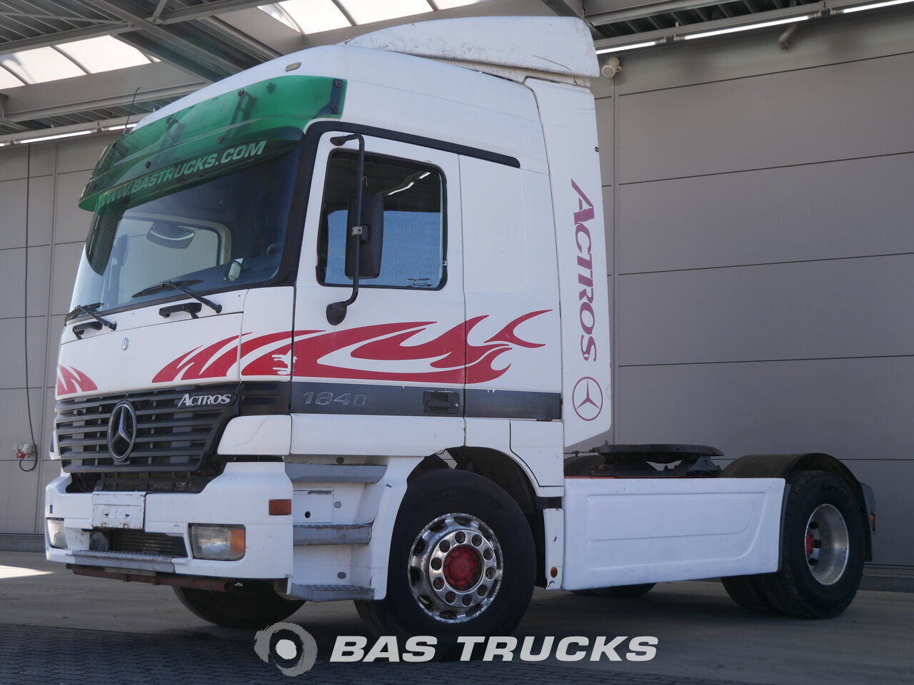 photo of Used Tractorhead Mercedes Actros 1840 LS 4X2 1998