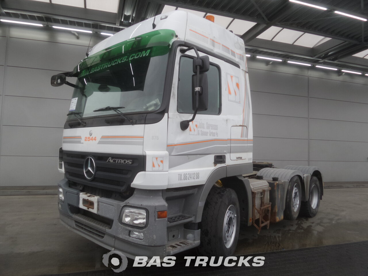 photo of Used Tractorhead Mercedes Actros 2544 LS Unfall Fahrbereit 6X2 2008
