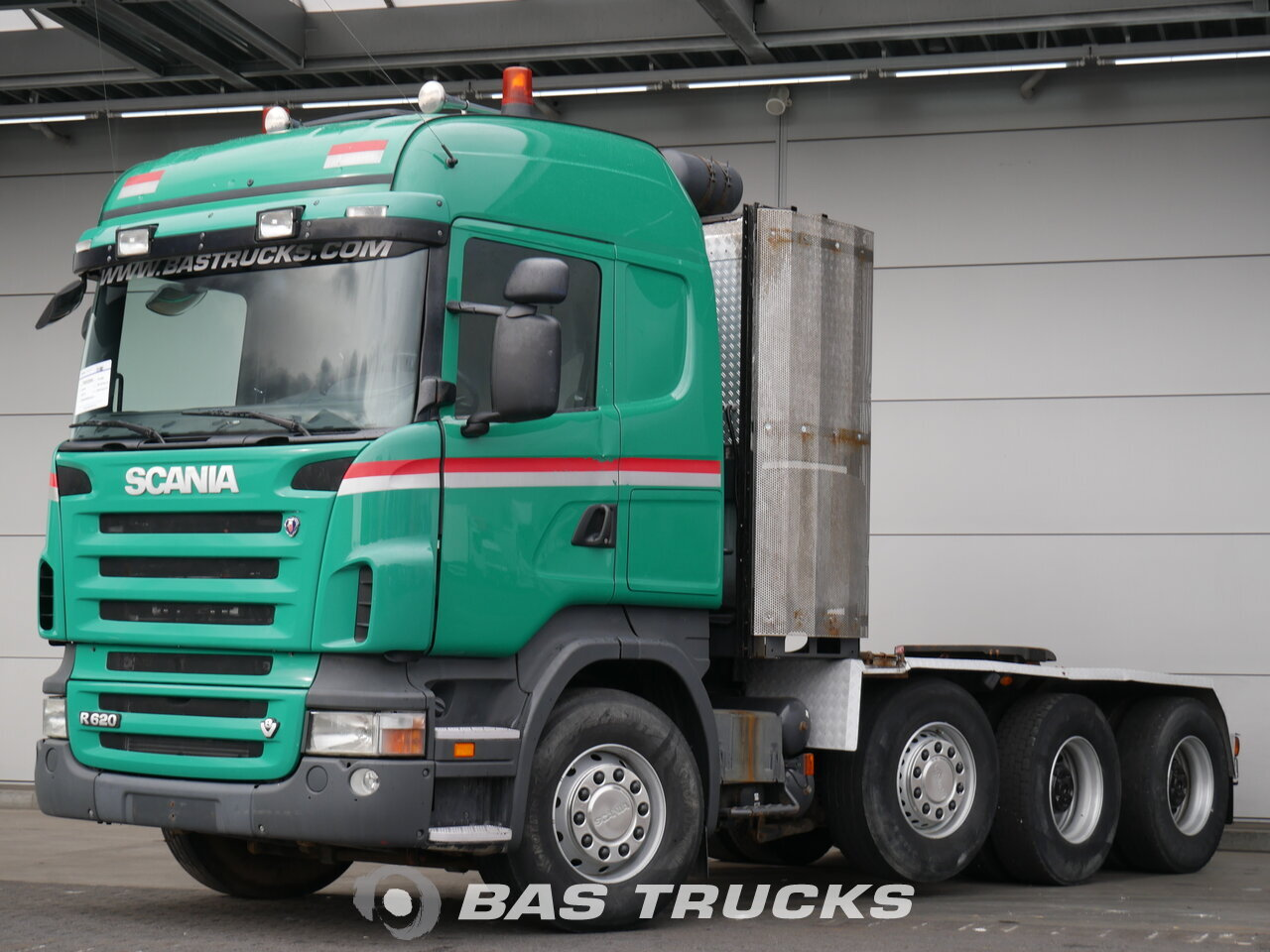 For sale at BAS Trucks: Scania R620 8X4 03/2008
