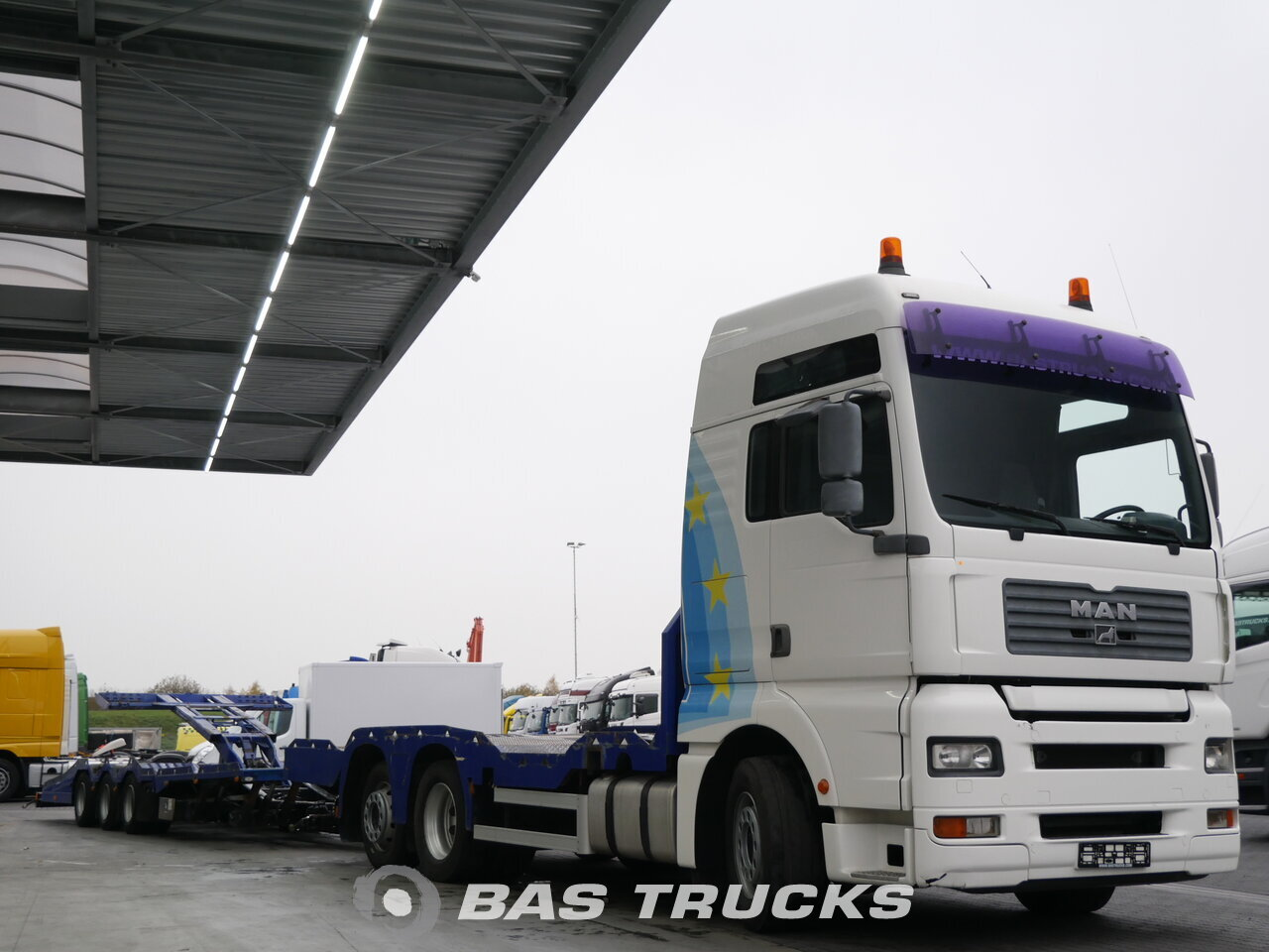 Fénykép: Used Truck + Trailer MAN TGA 26.460 XXL 6X2 2003