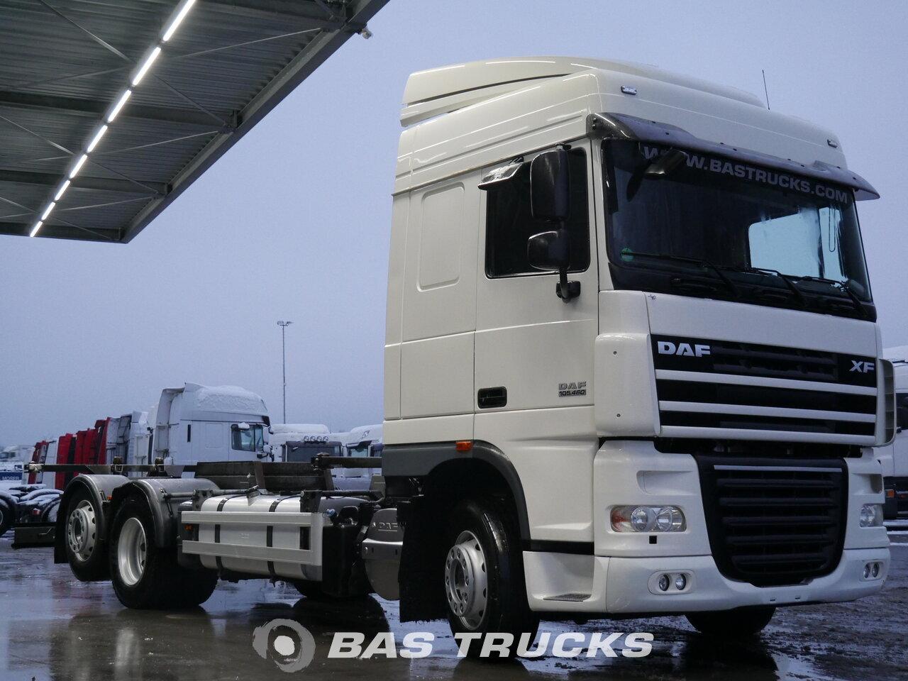Daf Xf 105 460 Truck Euro Norm 5 28200 Bas Trucks