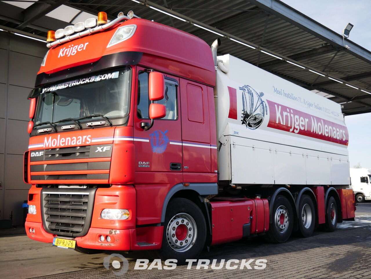 For sale at BAS Trucks: DAF XF105 510 SSC 8X2 12/2008