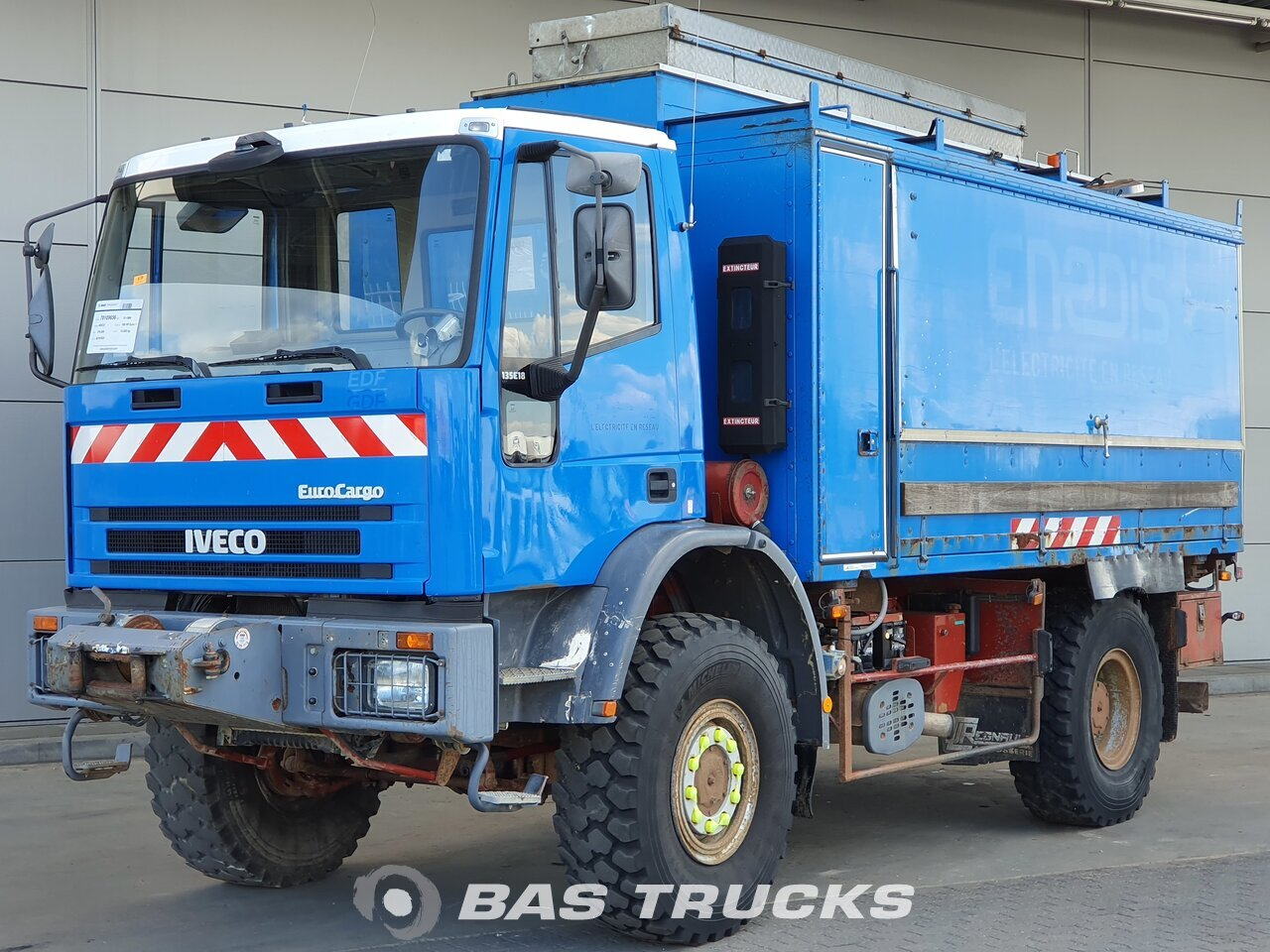 For sale at BAS Trucks: IVECO Eurocargo 135E18 4X4 12/1996