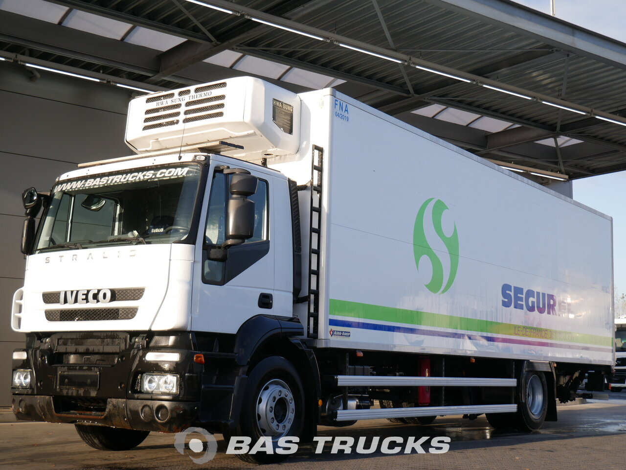 Iveco stralis ad190s31 truck euro norm 5 16900 bas trucks for Romana diesel usato