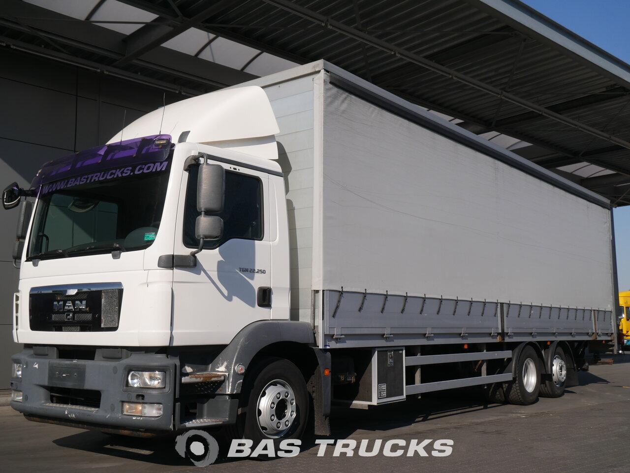 photo of Used Truck MAN TGM 22.250 C 6X2 2010