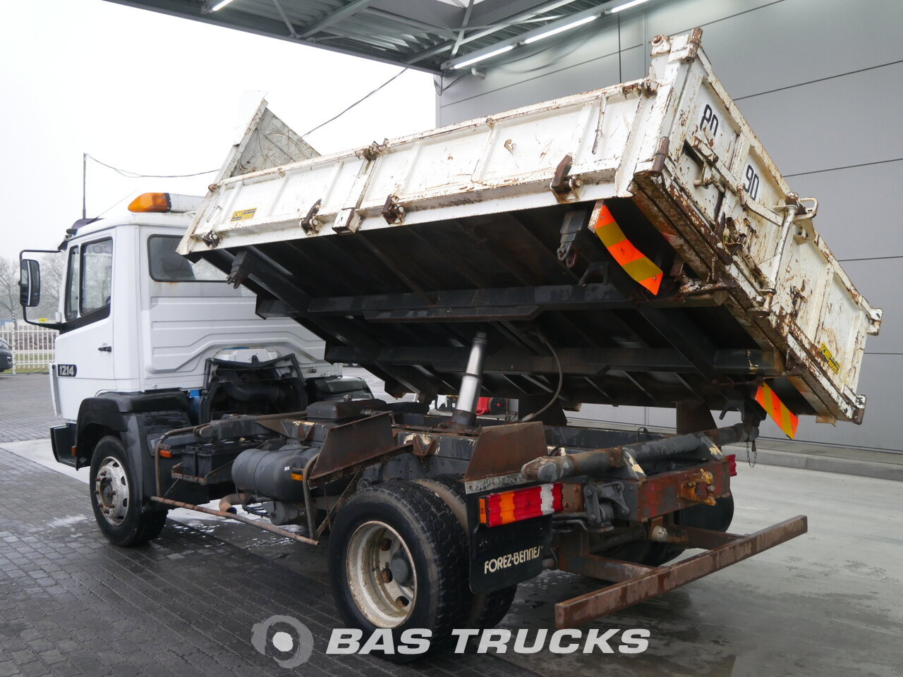 photo of Used Truck Mercedes 1214 S 4X2 1996