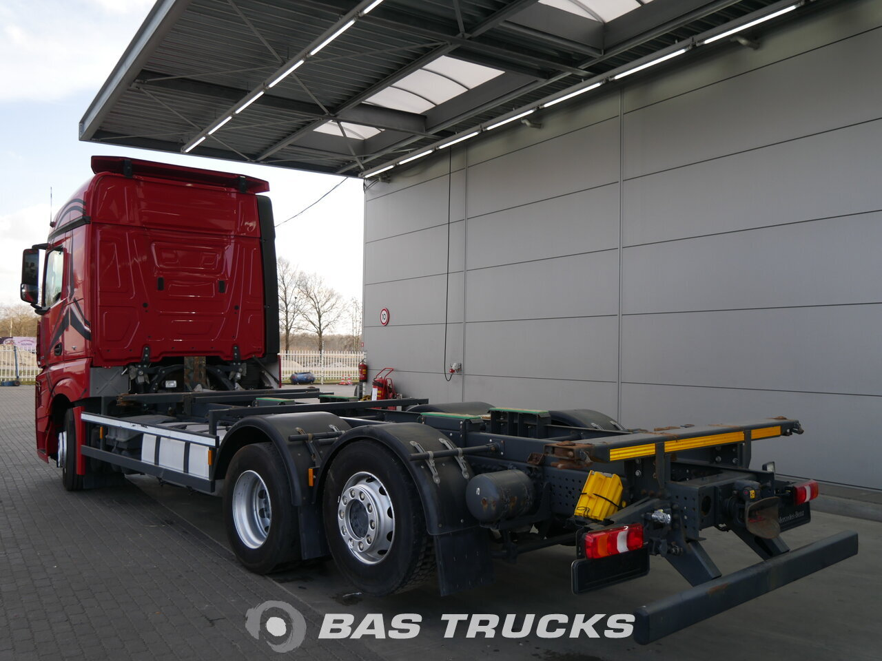 Mercedes actros 2545 l truck euro norm 6 38600 bas trucks for Used mercedes benz truck