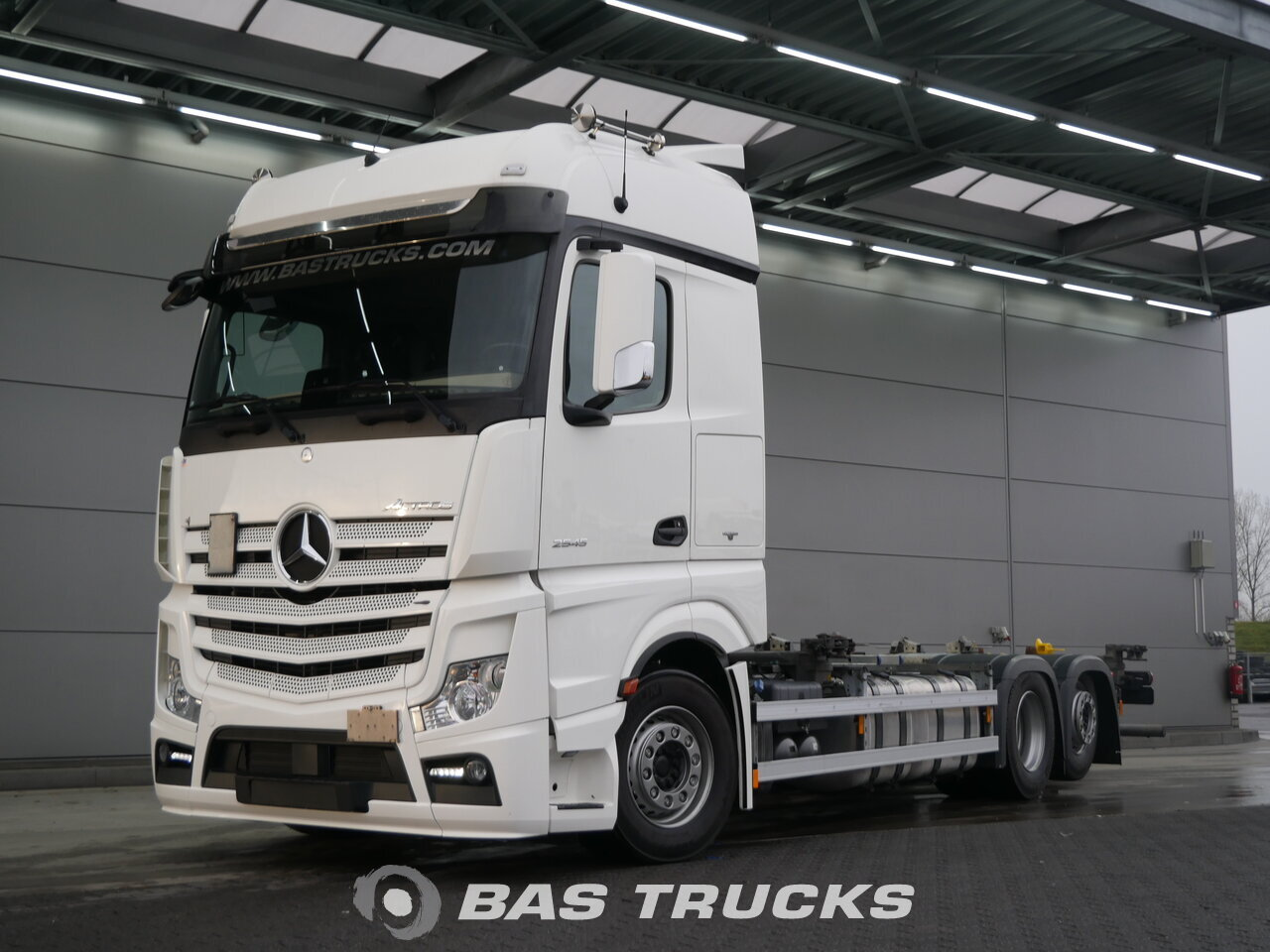 Mercedes actros 2545 l truck euro norm 6 43600 bas trucks for Used mercedes benz truck