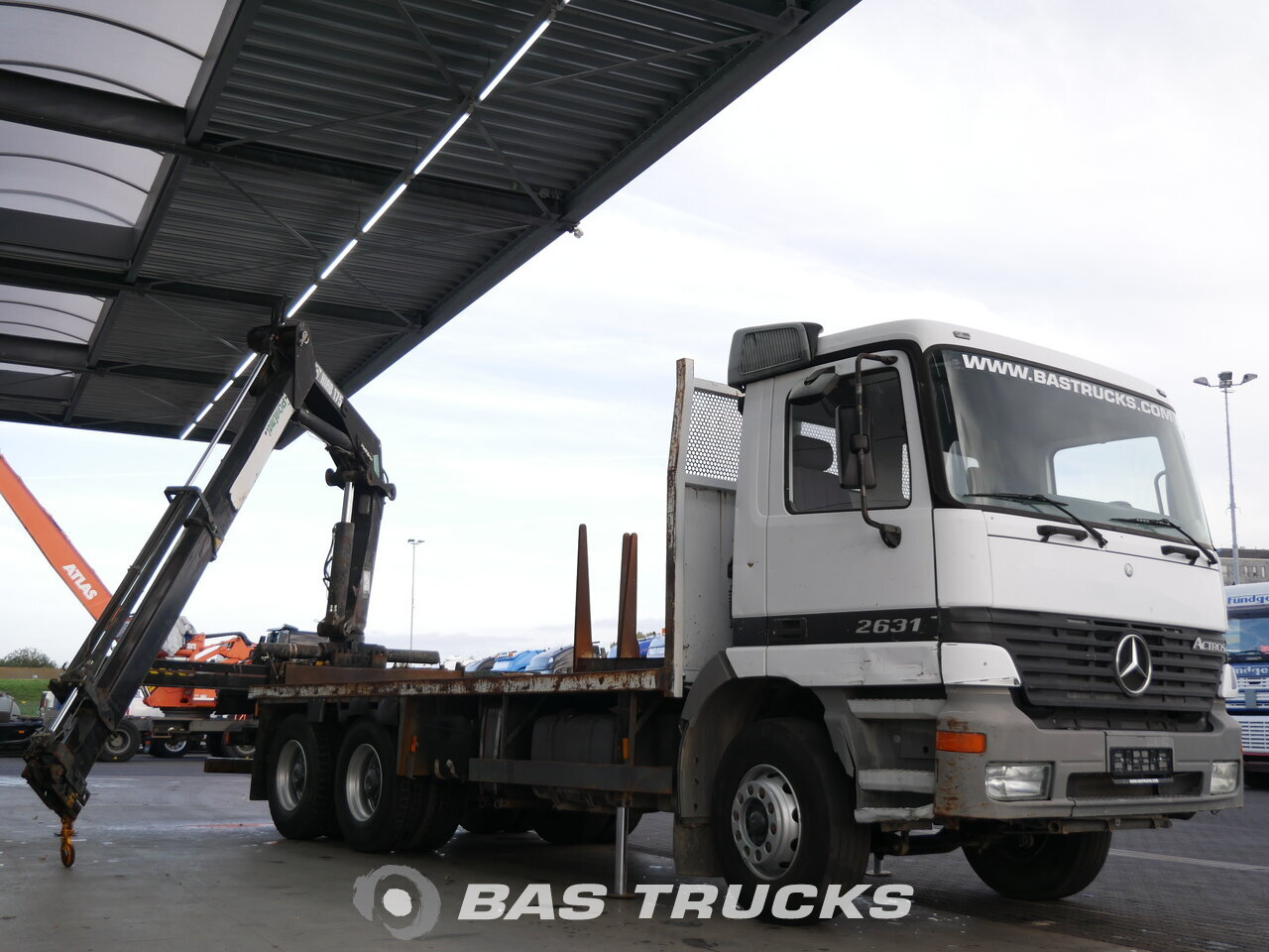 photo of Used Truck Mercedes Actros 2631 6X4 2000