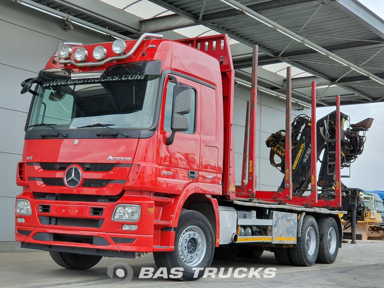 For sale at BAS Trucks: Mercedes Actros 2651 L 6X4 11/2013
