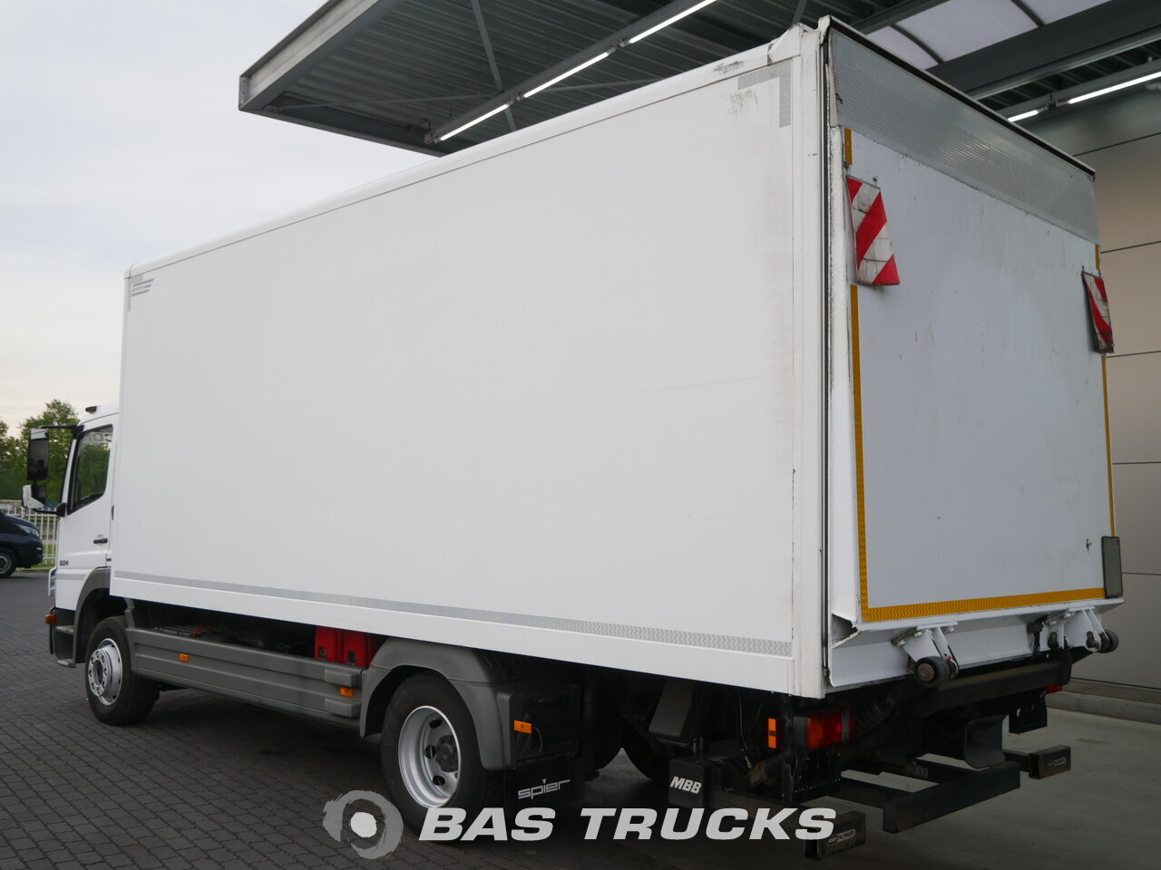 photo of Used Truck Mercedes Atego 1224 LS 4X2 2011