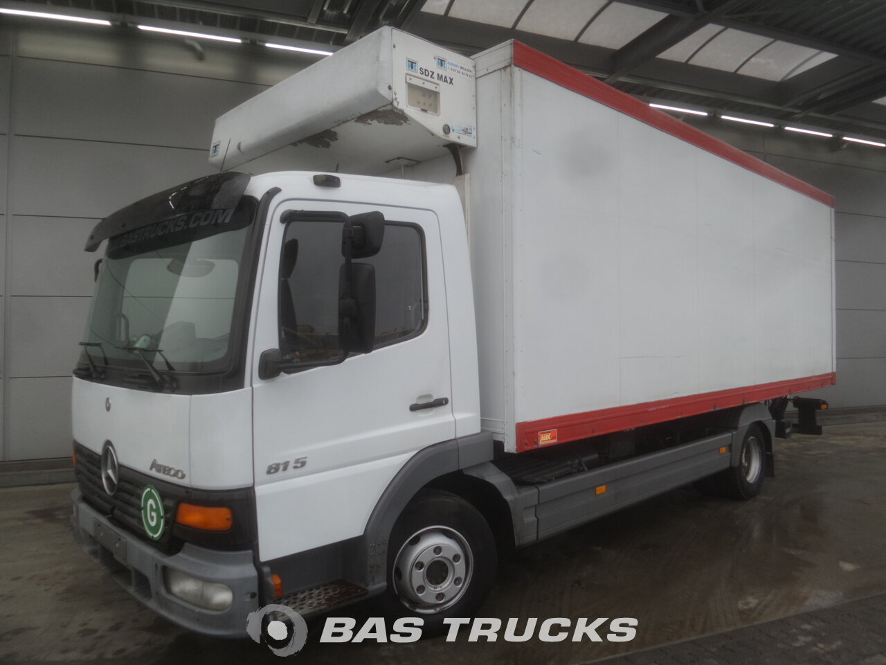 photo of Used Truck Mercedes Atego 815 L 4X2 2001