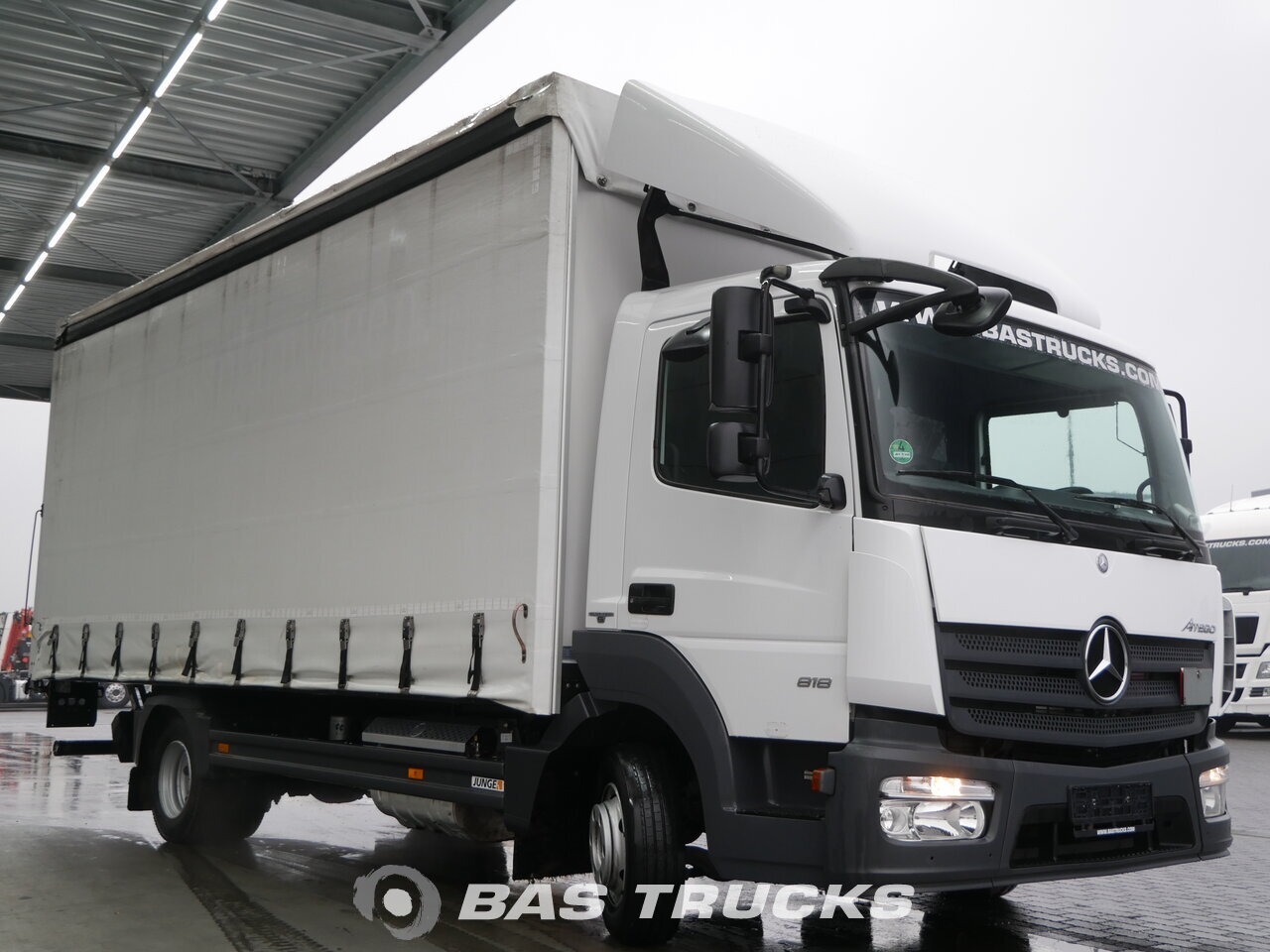photo of Used Truck Mercedes Atego 818 LS 4X2 2014