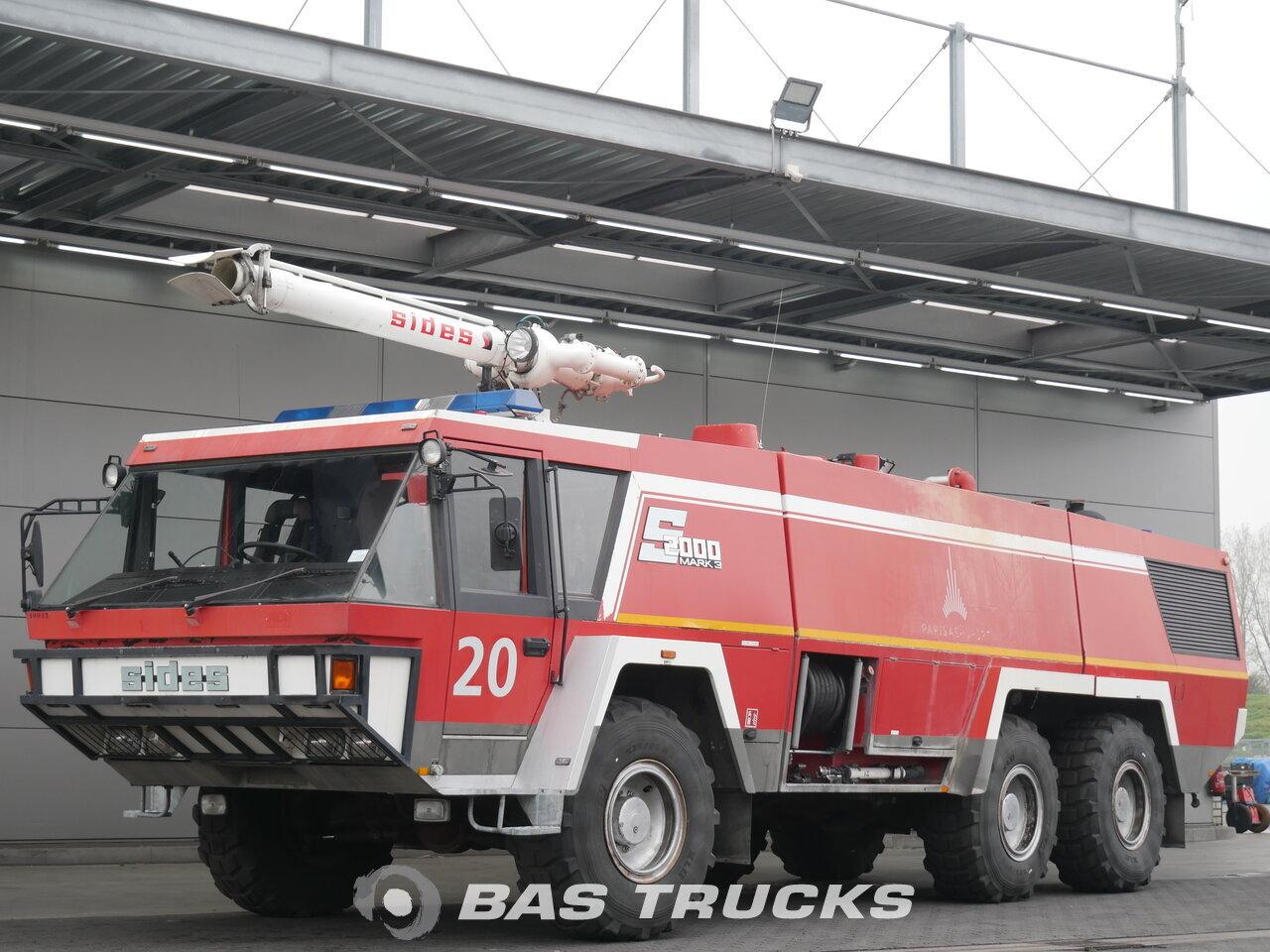 Mercedes Crashtender Fire Truck Sides 1994 Fire Truck Truck Bas Trucks