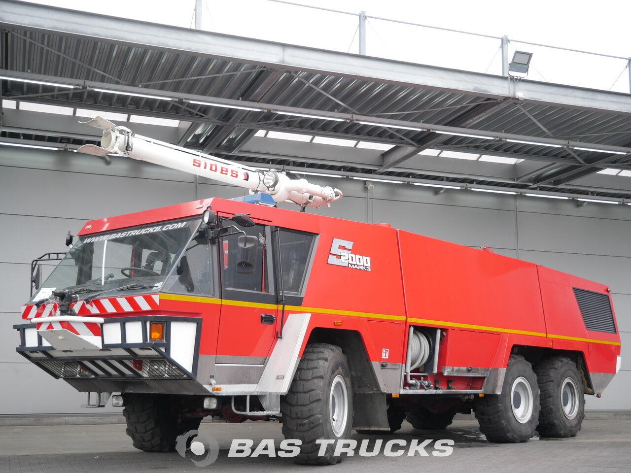 For sale at BAS Trucks: Mercedes Crashtender Sides Airport fire truck 6X6  06/1995