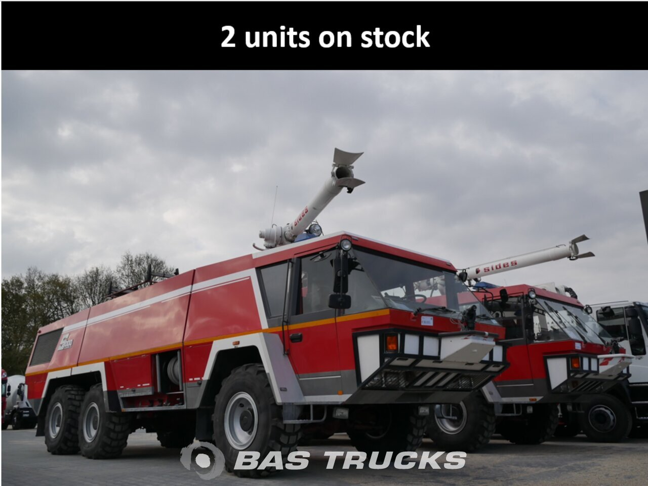 photo of Used Truck Mercedes Crashtender Sides Airport fire truck 6X6 1995
