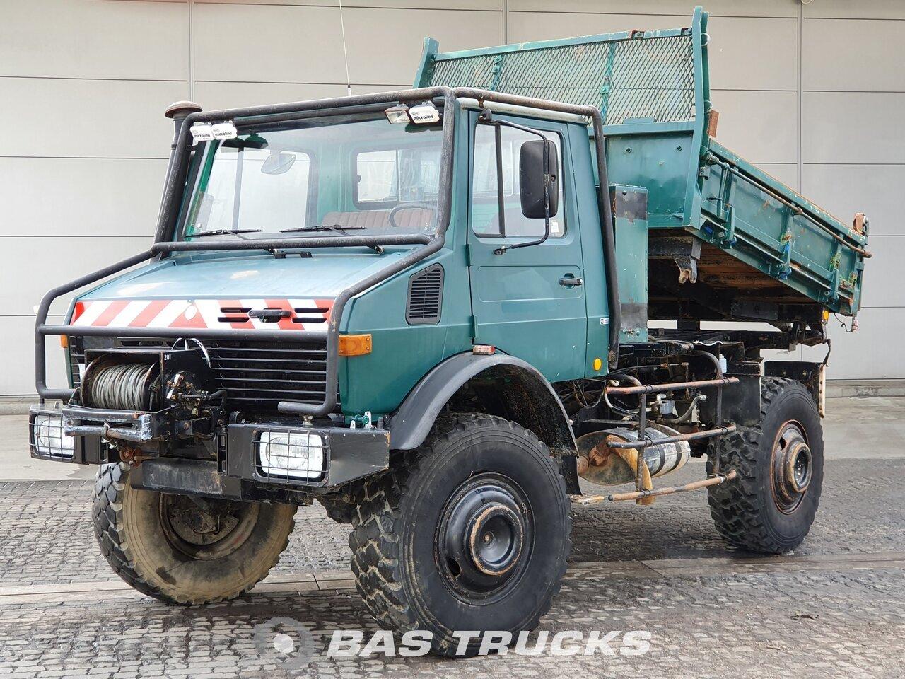 Mercedes Unimog 1700l 1983 Tipper Truck Bas Trucks