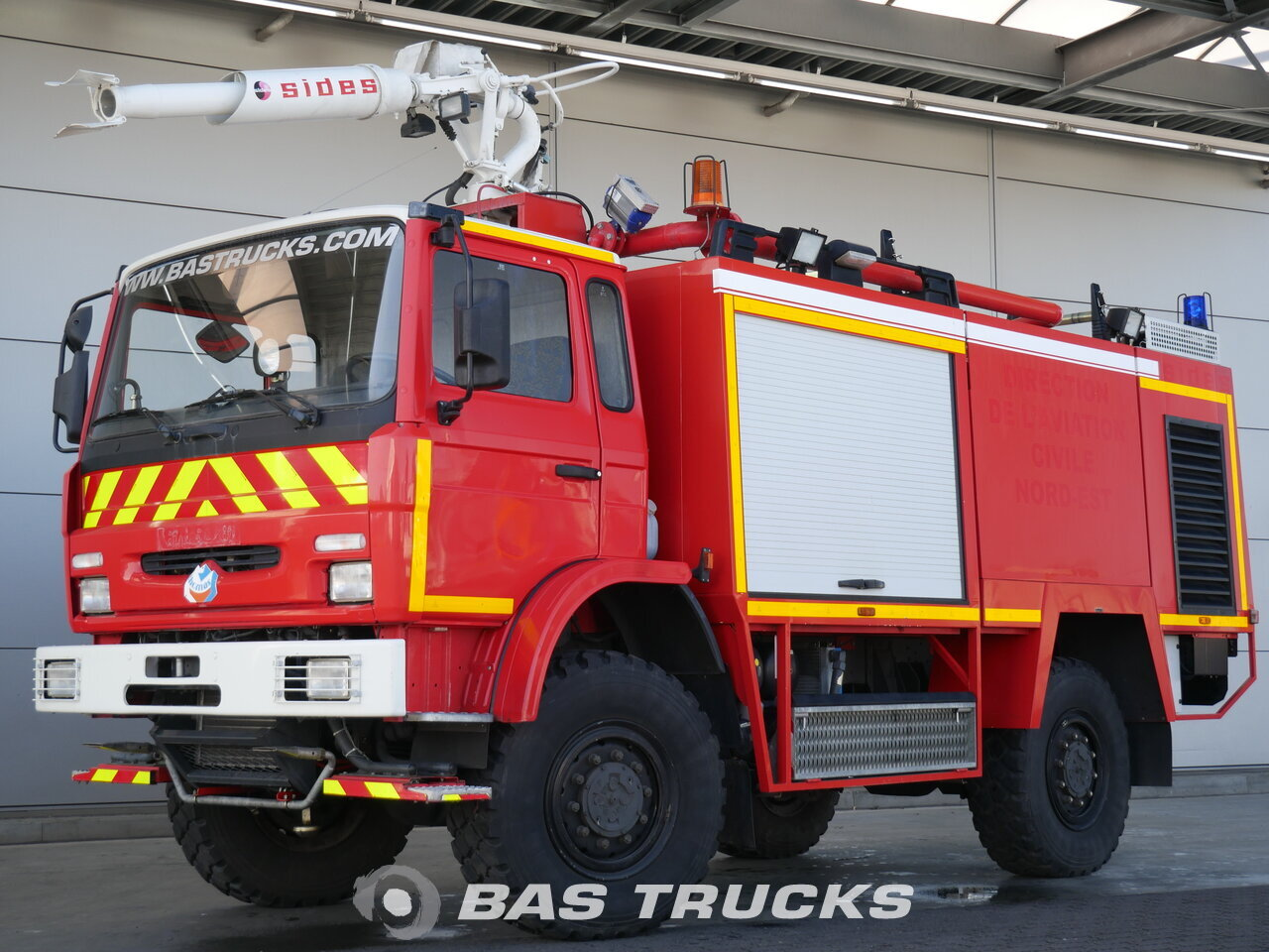 Used Fire Trucks For Sale >> For Sale At Bas Trucks Renault Fire Truck Sides Vim 24 4x4 04 2001