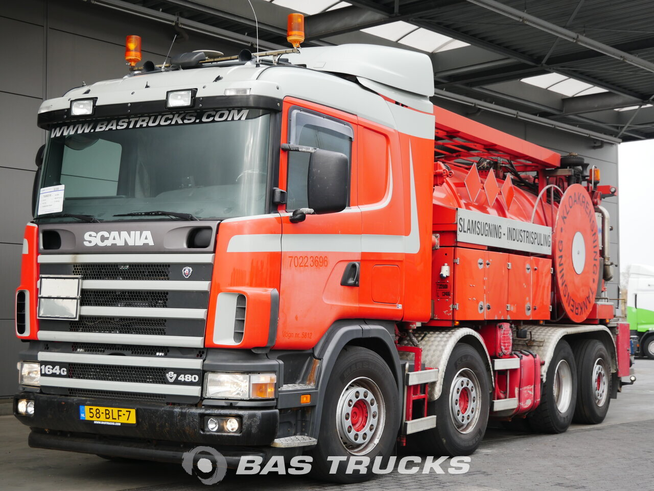 For sale at BAS Trucks: Scania 164G 480 8X2 06/2004