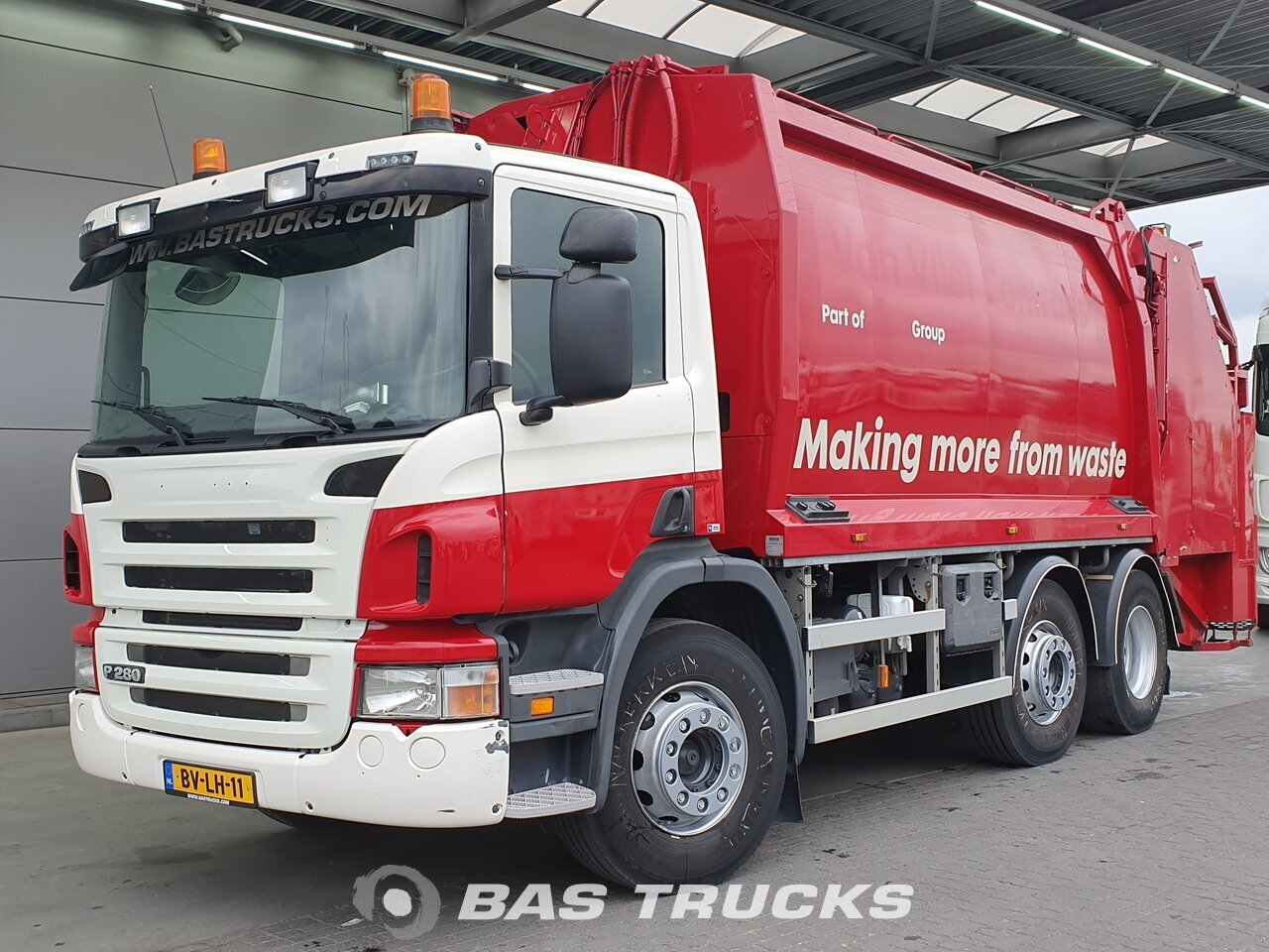 For sale at BAS Trucks: Scania P280 6X2 10/2008