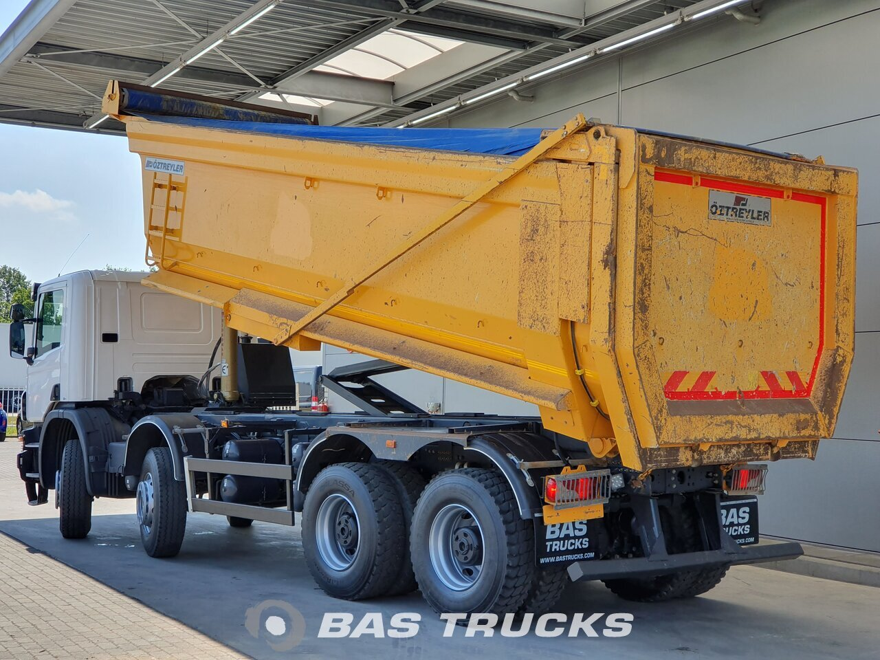For sale at BAS Trucks: Scania P400 8X4 11/2016