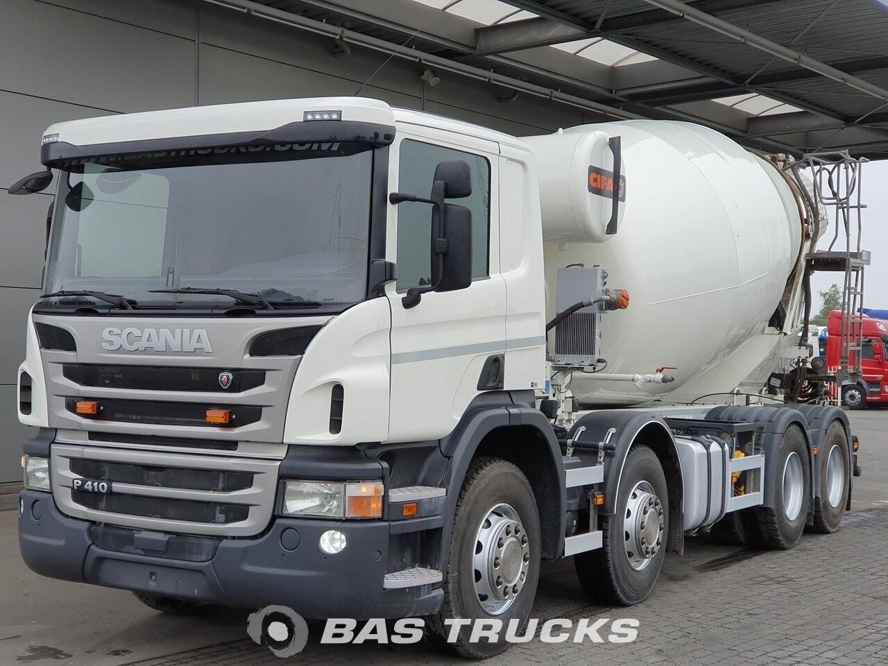 For sale at BAS Trucks: Scania P410 8X4 09/2017