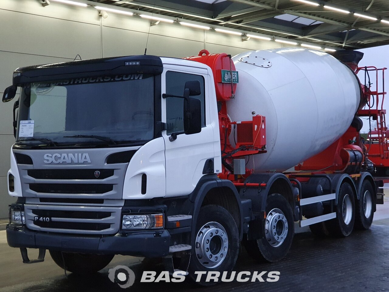 For sale at BAS Trucks: Scania P410 8X4 10/2017