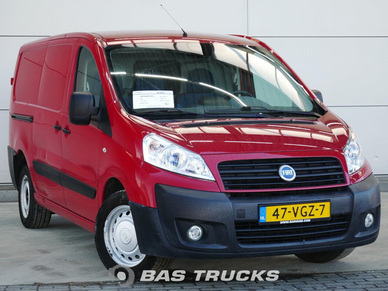 Ogromny Fiat Scudo Samochód dostawczy Euro 5 €3900 - BAS Trucks PY28
