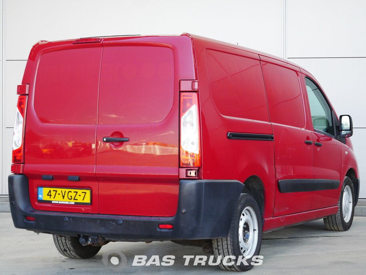 Wspaniały Fiat Scudo Samochód dostawczy Euro 5 €3900 - BAS Trucks MH68