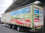 photo of Used Semi-trailer Jumbo 44Tons 2xLenkachse Liftachse LBW Hubdach Axels 2010