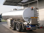 photo of Used Semi-trailer Magyar Milk Milch 27.000 Ltr Lenkachse 33HAZSP Axels 2009