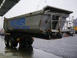 снимка на употребяван Полуремарке Carnehl 24m3 Stahl kipper Liftachse oси 2008