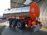photo of New Semi-trailer Everlast NEW UNUSED! 30.000 Ltr. / 1 / Liftachse ADR EVL-P-30-03-EU 3 Axels