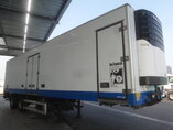 photo de Occasion Semi-remorques General Trailers Fruehauf Lenkachse Doppelverdampfer Trennwand Ladebordwand ONCRS 31-218 A 2 Essieux 2003