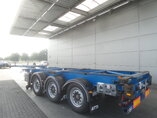 photo de Occasion Semi-remorques Van Hool 2x Ausziehbar Extending-Multifunctional-Chassis 3B0079 3 Essieux 2010