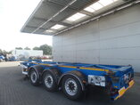 photo de Occasion Semi-remorques Van Hool 2x Ausziehbar Extending-Multifunctional-Chassis 3B0079 3 Essieux 2011