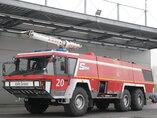 Mercedes Crashtender Sides Airport fire truck  6X6