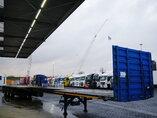 foto de Usado Semirremolque Goldhofer Ausziebar Bis 20m45 3x Lenkachse SPZ-DL3-37/80 Ejes 2001