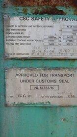 Fénykép: Used Kontejner MIG International 20Ft Tankcontainer IMO-1 27000Ltr 20ft 1970