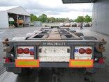 photo of Used Semi-trailer Broshuis 2x Ausziehbar Extending-Multifunctional-Chassis Axels 2000